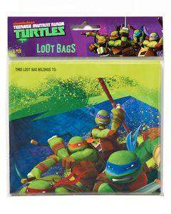 teenage mutant ninja turtles treat bags 8 ct