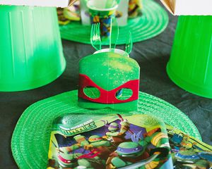teenage mutant ninja turtles lunch napkins 16 ct