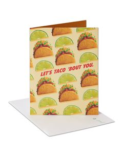 Taco Thank You Card