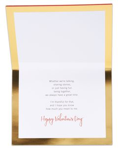 Lucky Valentine's Day Card