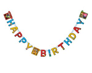 Super Mario Birthday Party Banner