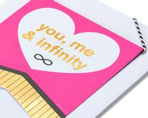Infinity Valentine's Day Card