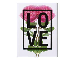 Floral Love Anniversary Card