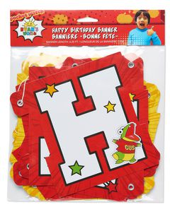 Ryan's World Birthday Party Banner