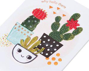 Happy Cacti Friendship Greeting Card