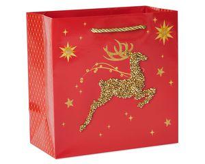 Reindeer Holiday Gift Bag