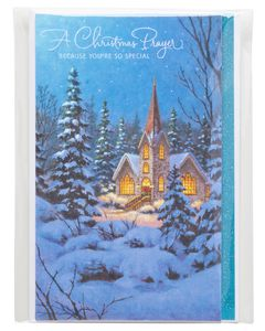 A Christmas Prayer Christmas Card