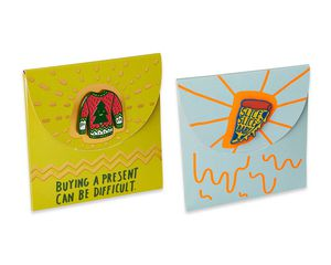 Pin Me Pizza and Christmas Gift Card Holders, 2-Count