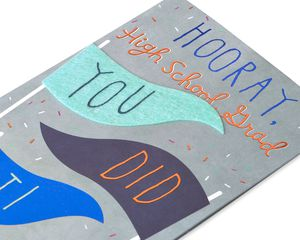 Hooray High School Graduation Card