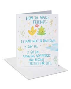 Besties for Life Thinking of You Card