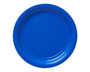 royal blue dinner round paper plate 20 ct