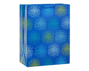Jumbo Blue with Star Clusters Gift Bag