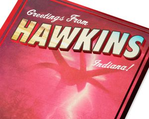 Stranger Things™ Hawkins Birthday Card