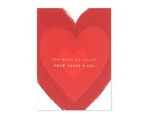 made my heart grow christmas card