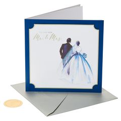 The New Mr. and Mrs. Wedding Greeting Card