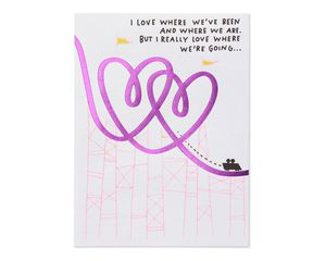 Bedroom Valentine's Day Card