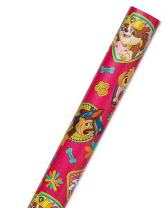 Paw Patrol Pink Wrapping Paper, 20 sq. ft