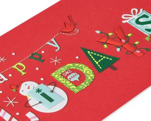 Happy Holidays Holiday Boxed Cards, 16-Count