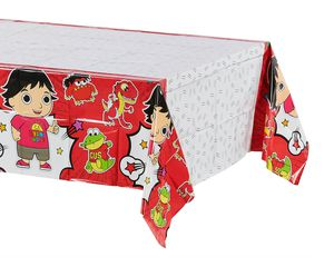 Ryan's World Plastic Table Cover, 54