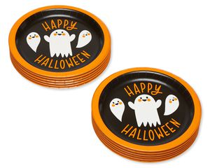 Ghost Paper Dessert Plates, 12-Count