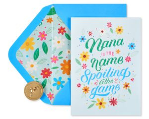 Spoiling is the Game Mother's Day Card for Grandma