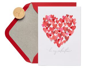 100 Hearts Valentine's Day Greeting Card