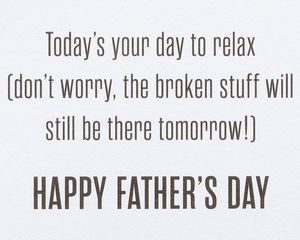 Mr. Fix It Father's Day Greeting Card