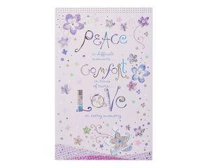 Peace Comfort Love Sympathy Card