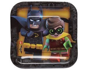 lego batman dessert plate 8 ct