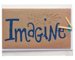 Imagine Graduation Card