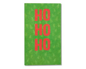 ho ho ho christmas card, 6-count