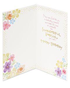 Kathy Davis Cake Birthday Card for Niece