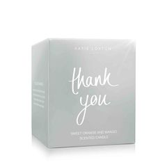 Katie Loxton Thank You Candle