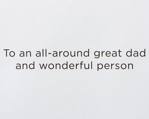 Wonderful Person Father's Day Greeting Card