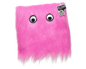 Warm Fuzzy Pink Pillow