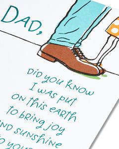 Funny Father's Day Card from Daughter