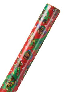 Teenage Mutant Ninja Turtles Christmas Wrapping Paper