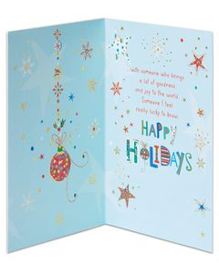 Happiest Holiday Wishes Holiday Card