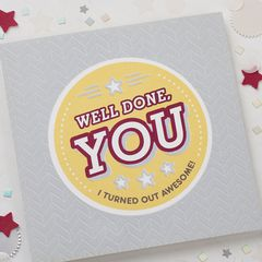 Well Done Father's Day Card