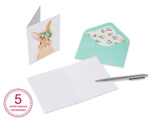 Woodland Animals Boxed Cards and Envelopes, 20-Count