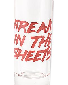 streets & sheets shot glasses (set of 2)