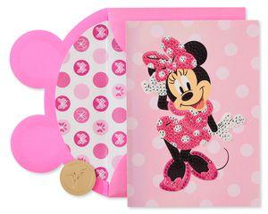 Minnie Mouse Disney Blank Friendship Greeting Card