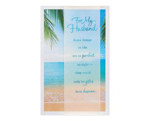 Religious Beach Father's Day Card