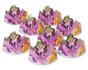 My Little Pony Birthday Tiaras, 8 Count