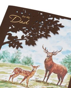 Deer Father's Day Card for Dad