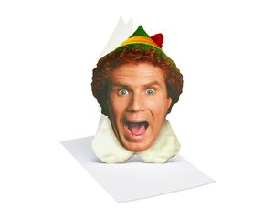 Buddy The Elf Christmas Boxed Cards and White Envelopes, 10-Count