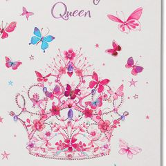 Tiara Birthday Greeting Card