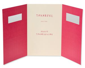 Thankful Thanksgiving Card