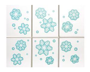 Snowflake Window Decorations, 36-Count