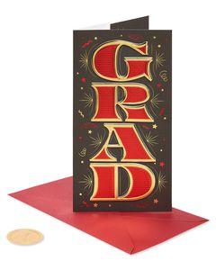 Grad Graduation Greeting Card